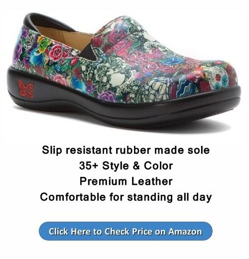 Alegria Women's Keli Professional Slip Resistant Work Shoe review