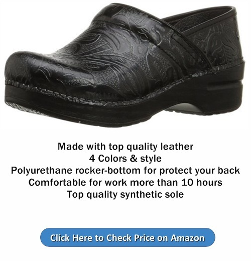 Dansko Women Professional Tooled Clog