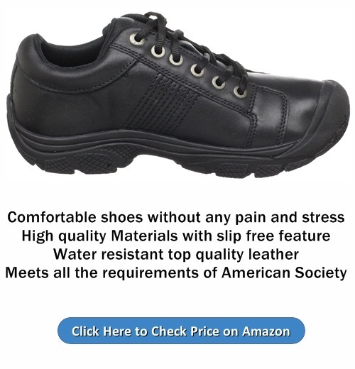 KEEN Utility Mens PTC Oxford