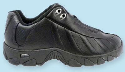 Very Wide Very Soft Thick Rubber Sole Mens Shoe