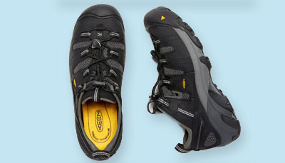 Keen utility men cool steel toe shoes
