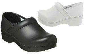 Dansko women's nurses oiled leather shoes
