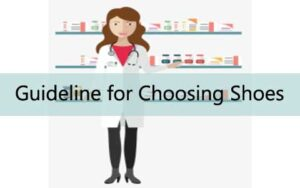 Best guideline line for choosing pharmacists shoes