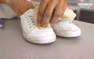 Easy way clean your shoes